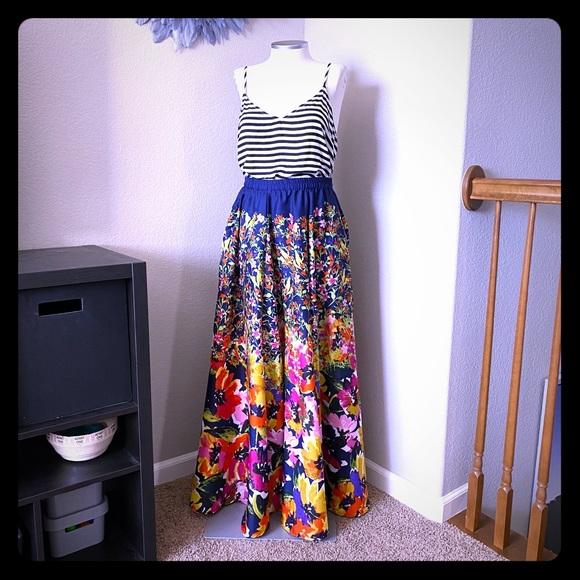 Cupio Dresses & Skirts - 🆕 listing! Floral maxi skirt